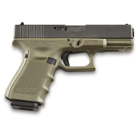 Glock-19 Glock 19 Gen4 9mm Semi Auto Pistol.