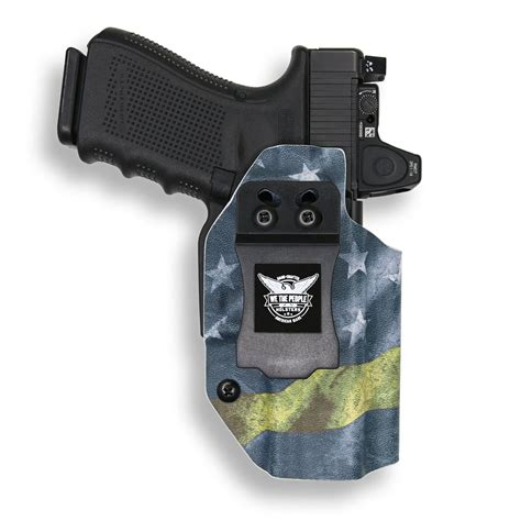 Glock-19 Glock 19 Holster With Light And Red Dot.