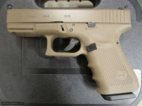 Glock-19 Glock 19 Magpul Fde.