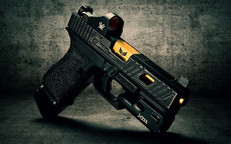 Glock-19 Glock 19 Mobile Wallpaper.