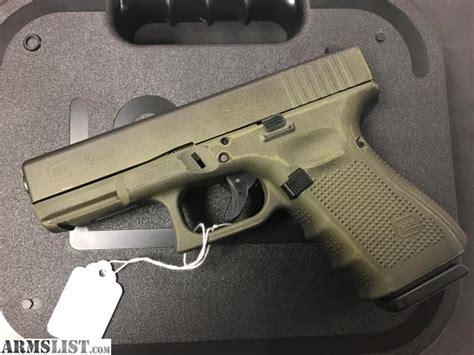 Glock-19 Glock 19 Od Green Battle Worn.