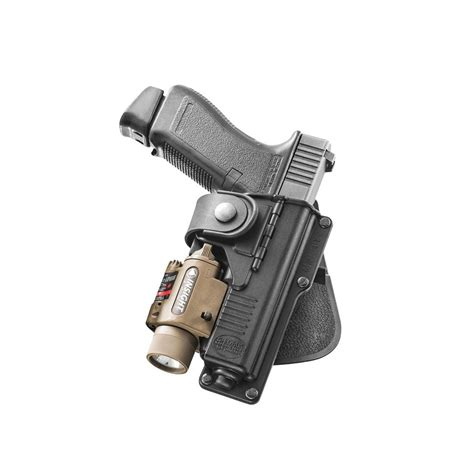 Glock-19 Glock 19 Paddle Holster With Light.