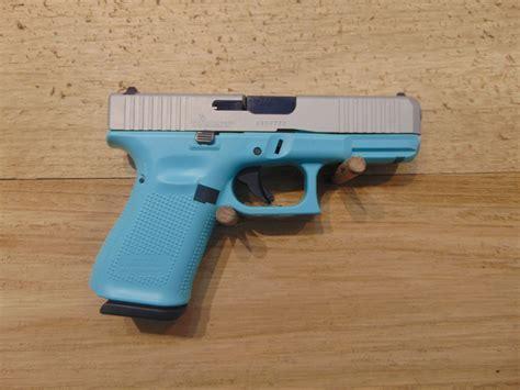 Glock-19 Glock 19 Robins Egg Blue.
