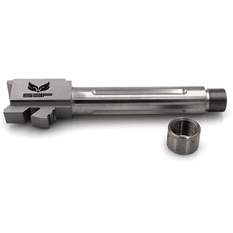 Glock-19 Glock 19 S3f Threaded Flutted Barrel.