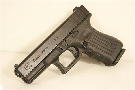Glock-19 Glock 19 Slide Lock.