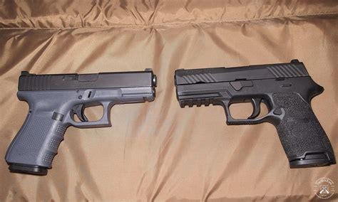 Gun-Shop Glock 19 Vs Sig P320 Size Comparison.