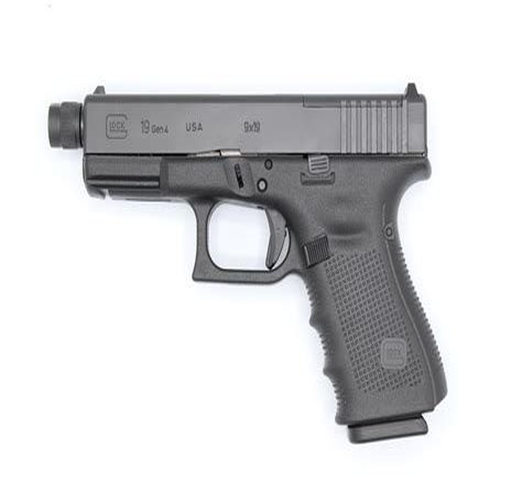 Glock-19 Glock 19 With Threaded Barrel.