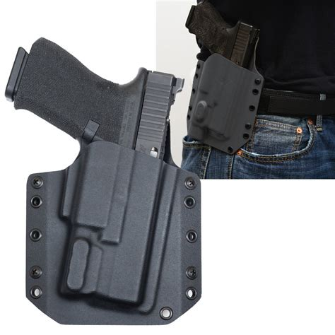 Glock-19 Glock 19 With Xc1 Owb Holster.