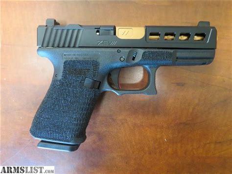 Glock-19 Glock Zev Tech 19 Dragonfly Bronze Barrel 9mm G19.
