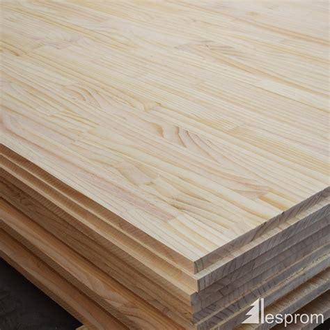Glued Wood Panels