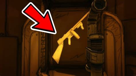 Tommy-Gun Gmod Bendy And The Ink Machine Tommy Gun.