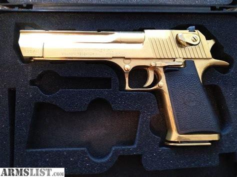 Desert-Eagle Gold Desert Eagle 50 Cal For Sale.
