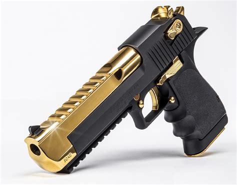 Desert-Eagle Gold Desert Eagle 500.