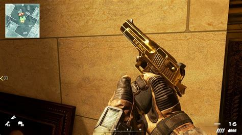 Desert-Eagle Gold Desert Eagle Modern Warfare Remastered.