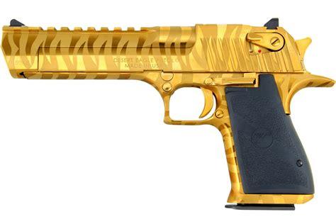 Desert-Eagle Gold Magnum Research Desert Eagle