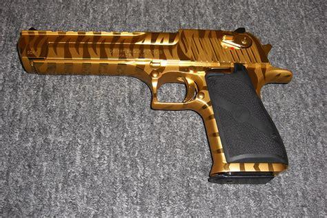 Desert-Eagle Gold Tiger Striped Desert Eagle For Sale.