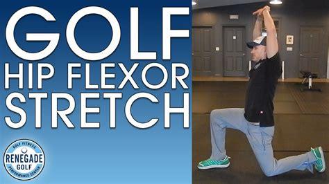 golf hip flexor pain after hip arthroscopy surgery