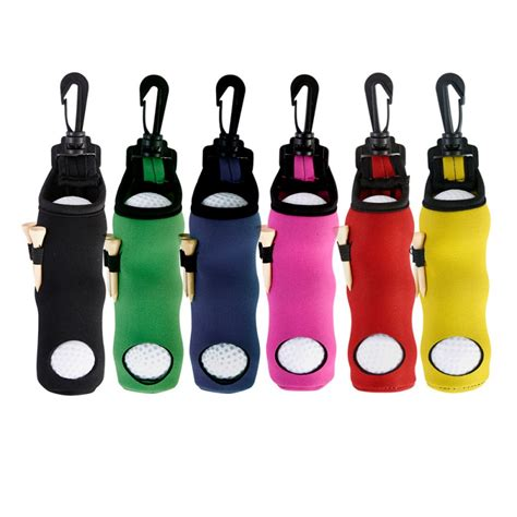 Golf Ball Display Case With Tees