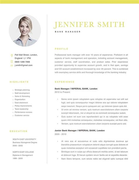 Resume Templates Free Modern Cv Template Amazing Download Word Cv