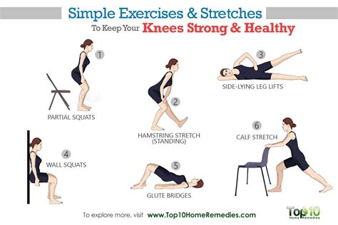 good knee stretches