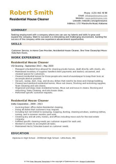 awesome sample cleaner resume images simple resume office - Cleaner Resume Template