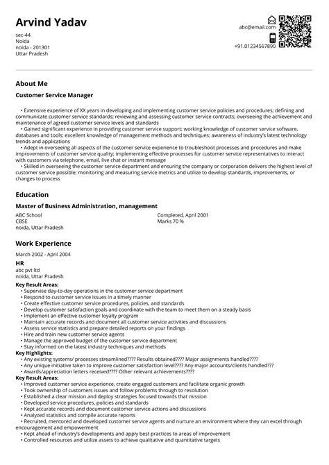 good resume headline for customer service customer service manager resume sample - Customer Service Manager Resume Template