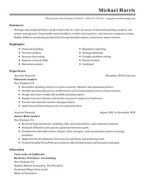 Graduate Accountant Cv