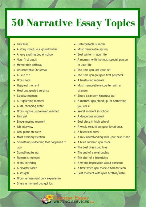 good topics for a narrative essay case study research good topics for a narrative essay narrative essay topics and tips here studybay