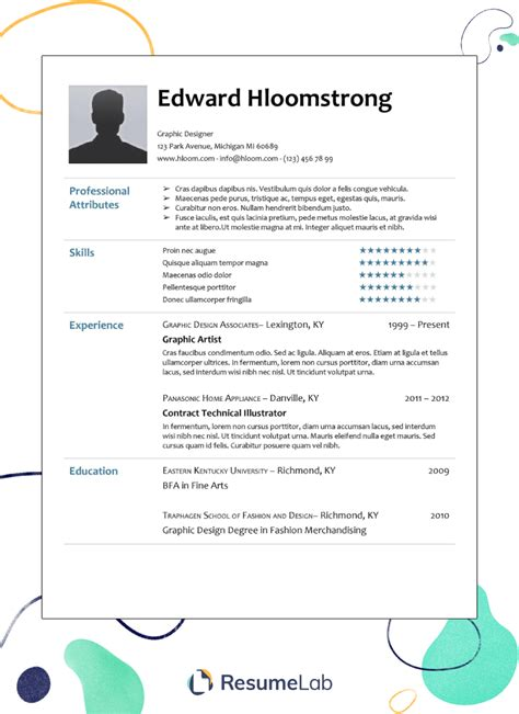 google resume format pdf 250 free resume templates collection in word pdf format