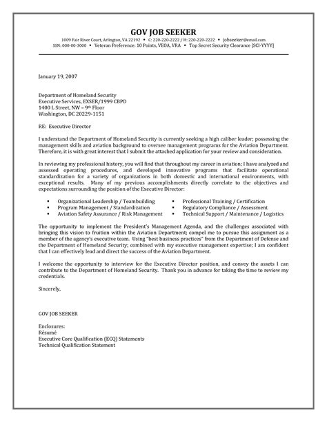 Cover Letter Government Job. Job Resume Cover Letter Sample How To