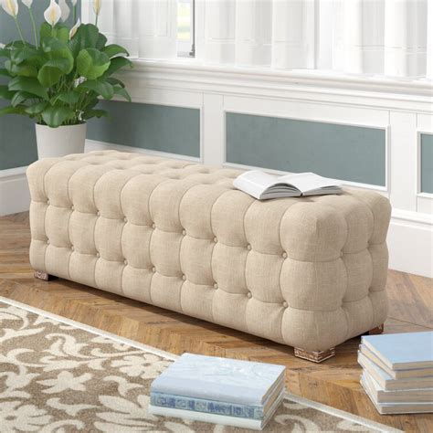 Gowans Upholstered Bench