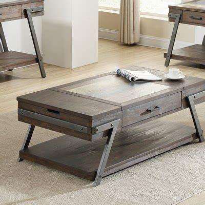 Goyette 3 Piece Coffee Table Set