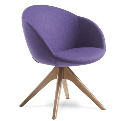 Grace Wood Base Tub Chair