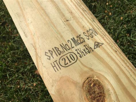 Grade Stamp On Lumber