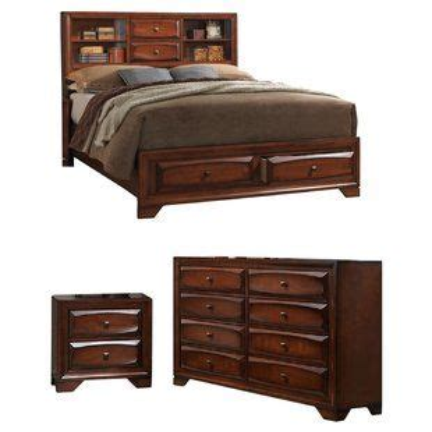 Granite Platform Configurable Bedroom Set byLoon Peak