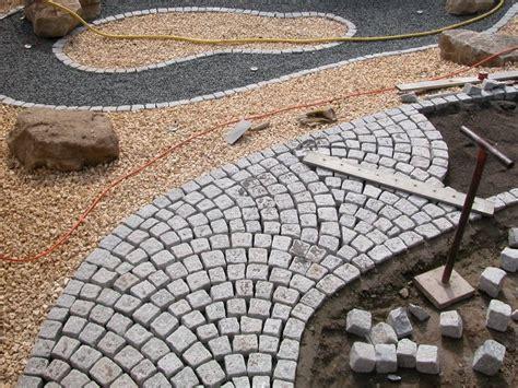 Granitpflaster Verlegen