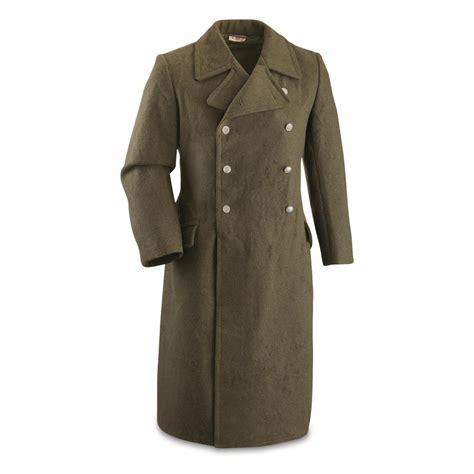 Army-Surplus Great Coat Army Surplus.