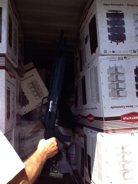 Ammunition Greek Border Guards Found 52 Tons Of Guns And Ammunition.