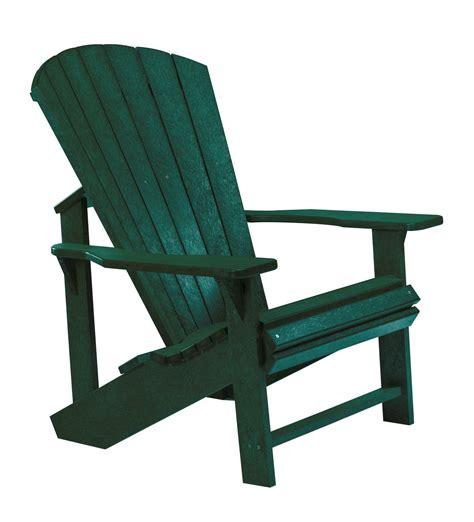Green Adirondack Chairs