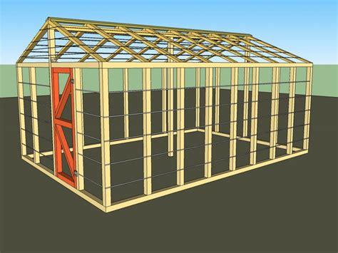 Greenhouse Plan