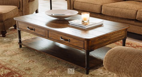 Grenadille Rectangular Coffee Table