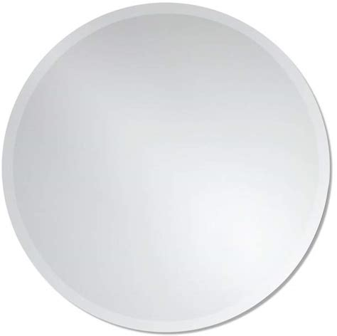 Greyson Frameless Round Wall Mirror