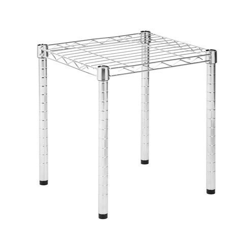 Grid Style Wire Shelving Unit