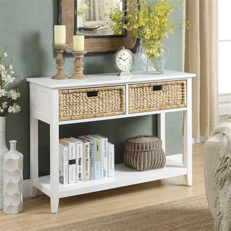 Griton 2 Drawer Console Table