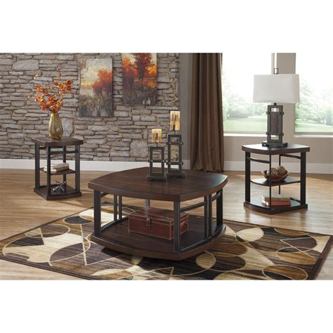 Grossi 3 Piece Coffee Table Set
