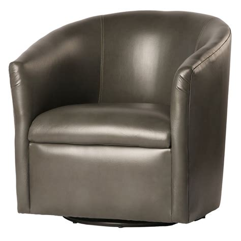 Groveport Swivel Barrel Chair
