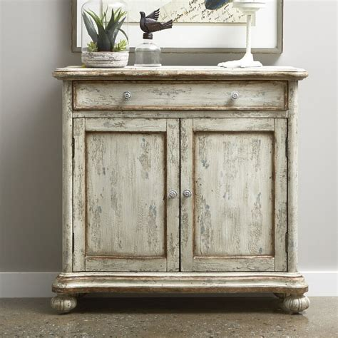 Grubbs Distressed 2 Door Accent Cabinet