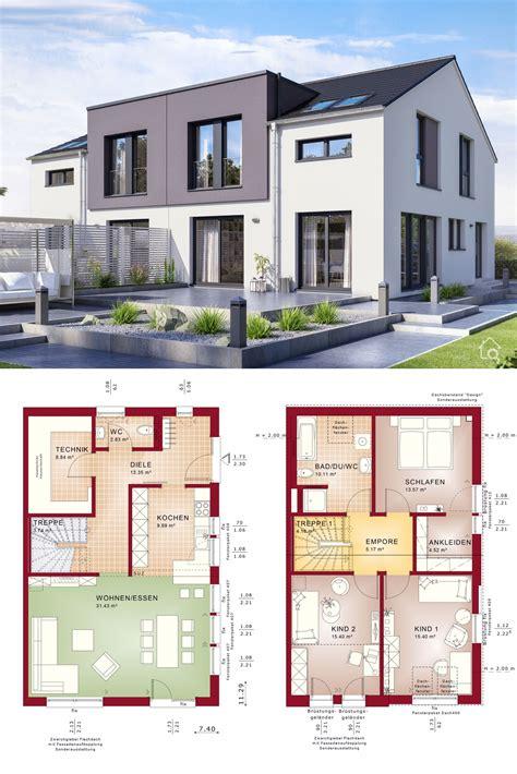 Grundriss Haus Modern