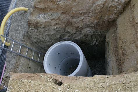 Grundwasser Keller Sickerschacht