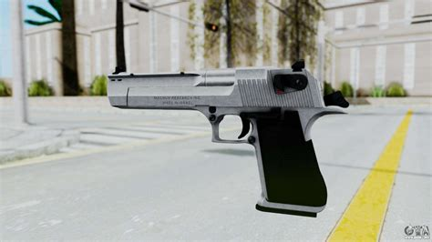 Desert-Eagle Gta San Andreas Blue Chrome Desert Eagle.